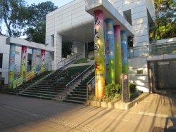 九龍公園の入口