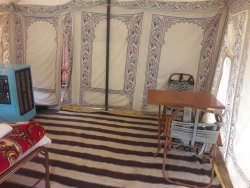 Royal camps in PUSHKAR