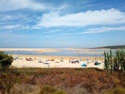 Lagoa de Albufeira Beach