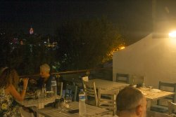 Their charming rooftop patio