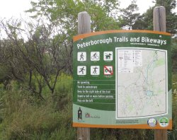 Peterborough-Lakefield Rotary Greenway Trail
