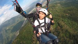 Paragliding In Taiwan - Fly To The Sky
