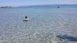 Spiaggia del Giunco Isola di San Pietro