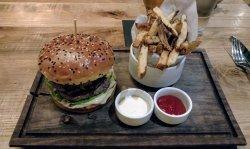 A burger to savor.