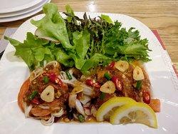 Spicy Seafood Sashimi