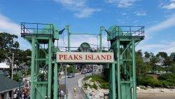 Peaks Island Golf Carts