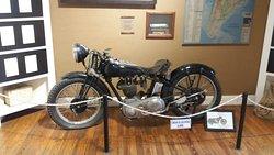 Replica of his bike