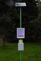 Mobile charging point near the Musical Fountain.