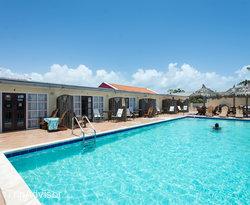 The Pool at the Aruba Cunucu Residence
