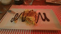 Dessert: tiramisù.