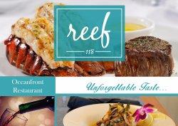 Reef 118 Oceanfront Restaurant