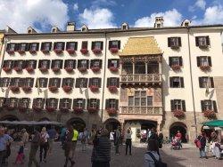 The Golden Dachl near hotel