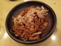 Dinning at Juza Special Yakisoba Shop Dotonbori~