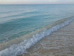 Mar sin  algas, super transparente y turquesa! Mas hermoso que nuncaaa!!