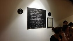 Day's Menu on the Wall