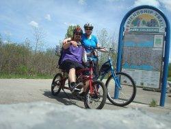 Port Colborne start of trail