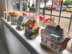 Lavenham Blue Vintage Tea Rooms