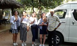 Hatton tea plantation sri Lanka visit in UK student with shanaka leisure tour. Hatton, high up i (279463777)