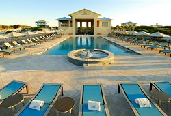 Kiva Beach Club includes pool and Beach side service!