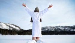 Arctic sauna and ice swimming is a must do in Finland.