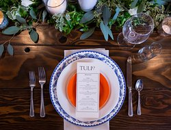 Private Event Place Setting