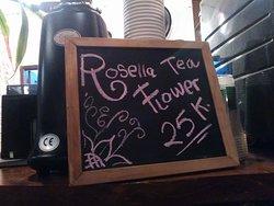 Mmmmmmm Rosella Tea.