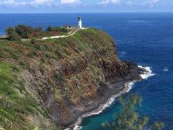 Kileaua Point National Wildife Refuge Lighthouse