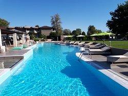 Une des quatres magnifiques piscines