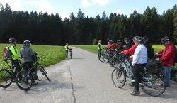 Gruppen - Rundfahrt mit Elektrobikes nach Fabrikbesichtigung