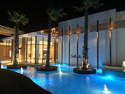 Super-de-luxe en romantisch resort