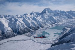 The Helicopter Line Mount Cook