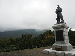 Secchu Kogun Sonan Distressed Memorial Statue
