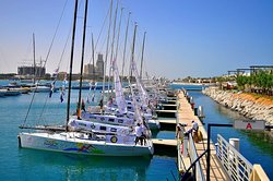 Al Hamra Marina and Yacht Club