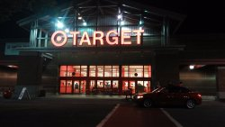 Target store at 5 mins distance