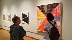 """Exhibits such as """"Peter Reichardt and Andres Torres: imPULSE"""" give visitors fresh perspectives."""