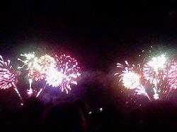 Kurihama Perry Festival Fireworks