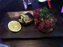 Amazing setting and good food