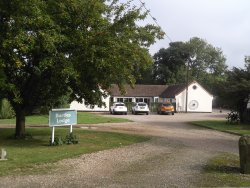 Visiting for a family party at nearby village hall