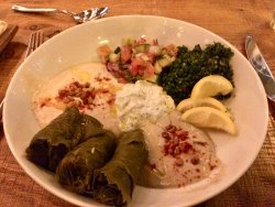 Meze plate of deliciousness!
