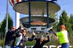World's Largest Cherry Pie Pan
