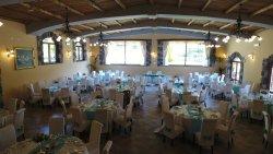 la sala di Villa Jomaryan