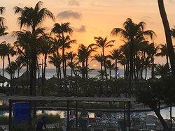 Nice sunset view