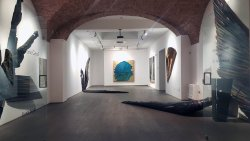 Estate 2017- Mario Ceroli exhibition in Flora Bigai Arte Contemporanea