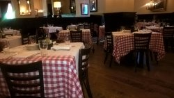 Comfy , well-maintained interior. Nice air-conditioning! Pics of old Italy on the walls!