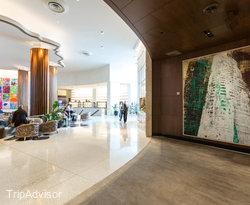 Lobby at the Nobu Hotel Miami Beach