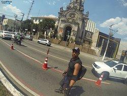 Percurso Paulista x Ibirapuera de Roller 30klms (ida e volta). Dia perfeito.