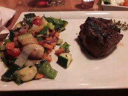 Excellent steak house