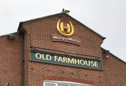 Old Farmhouse, Hungry Horse