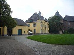 Jagd-Schloss und Burg Linn, in Krefeld.