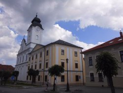 The new church and Minorite monastery in Levoča